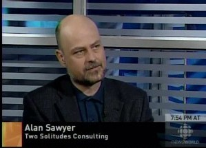 Alan Sawyer on Report on Business Television - ROB TV